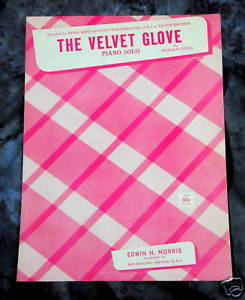 Primary image for The Velvet Glove 1931 Sheet Music by Jordan And Girdley