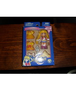 Sailor Moon MIB Mini Dressables snap on clothing set by Irwin - $25.00