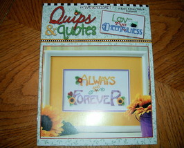 Mary Engelbreit Quips & Quotes Cross Stitch Leisure Arts No  - $5.50