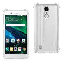 Reiko LG Fortune/ Phoenix 3/ Aristo Clear Bumper Case With Air Cushion P... - $10.62
