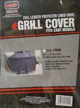 MHP CV4PREM Full Length Polyester Lined Vinyl Grill Cover Color Black image 5