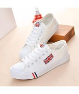 Womens Canvas Shoes Sneakers Breathable Casual Tenis Feminino Lace-up La... - $29.99+