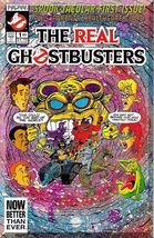 The Real Ghostbusters #1 (1991) *Copper Age / Now Comics / Slimer / Mini-Series* - $3.25
