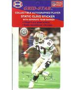 rufus porter seattle seahawks football sticker rare autograph facsimile - $6.98