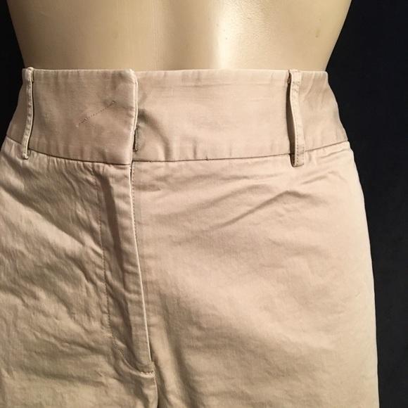Ann Taylor Tan cotton stretch pants 4