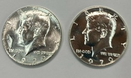 1970-s Proof & 1970-D Kennedy Half Dollar 40% Silver   2 Coins   Item #73 - $24.75