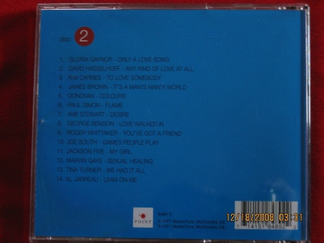 Moments In Love- Various Artist Disc 2