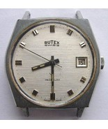 VINTAGE BUTEX SWISS WATERPROOF WRIST WATCH FOR PARTS OR REPAIR - $9.99