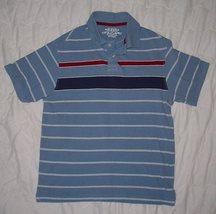 ARIZONA JEAN CO. Blue Short Sleeve Cotton  Polo Shirt sz.L   EUC - $3.99