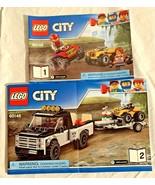 LEGO City ATV Race Team #60148 **Instruction Manuals #1 & #2 Only** No P... - $3.95