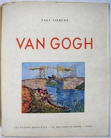 Van Gogh Book with Prints, France 1950