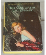 Nancy Drew #30 The Clue of the Velvet Mask Oval... - $3.99