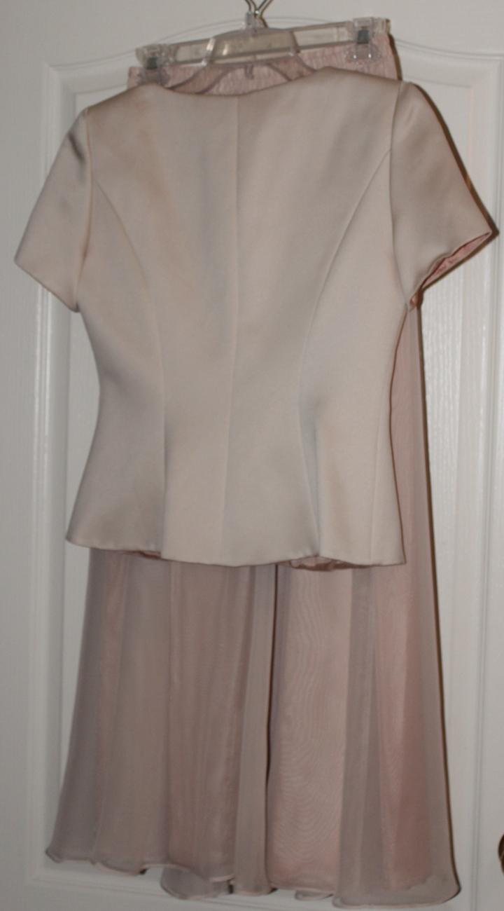 Alex Evening Formal Two Piece Dress Set Size 4 Petite