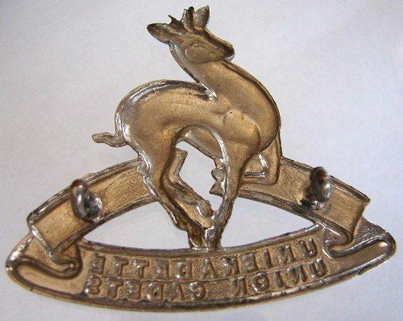 VINTAGE SOUTH AFRICAN MILITARY SCHOOL CADETS CAP BADGE