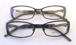 ELLEN TRACY WOMEN'S EYEGLASS FRAMES for RX 51-16-135MM  PURPLE & BROWN S... - $27.73