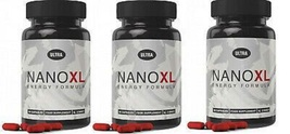 Ultra Strong Nano XL Energy Formula Capsules X 3 Tubs - $143.60