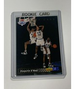 1993 UPPER DECK NBA DRAFT TRADE CARD ROOKIE SHAQUILLE O'NEAL #1B (MR) - $197.99