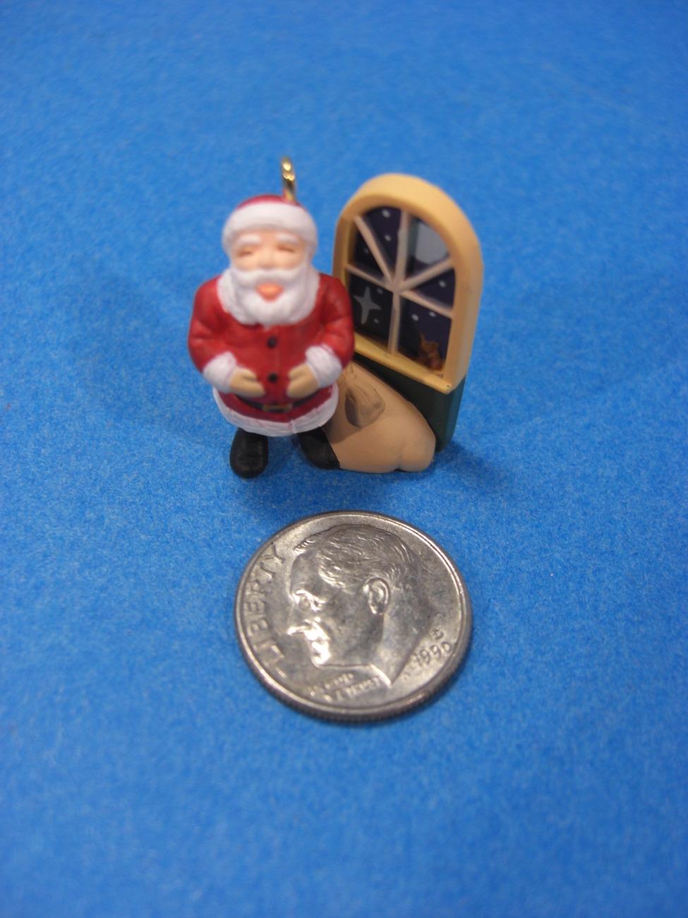 Jolly Old Santa 1997 Miniature Hallmark Christmas Ornament