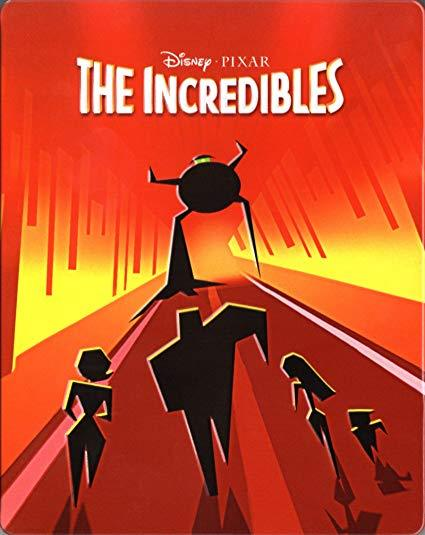 Disney The Incredibles Limited Edition Steelbook [4K Ultra HD + Blu-ray]