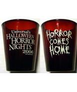 UNIVERSAL HALLOWEEN HORROR NIGHTS 16 2006 SHOT GLASS - $29.95