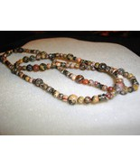 A-69    Leopard Jasper Necklace - $21.00