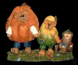 """Boyds Bearstone """"PUNKY W/GORDY & NUTTY""""  #228424SM - BBC Exclusive-  2003 - $29.99"""