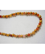 C-26  Red Adventurine and Harvest Stone Necklace - $13.00