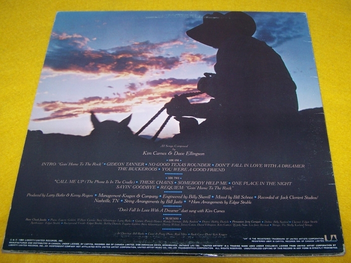 Elvis Kenny Rogers  2 LP  Record