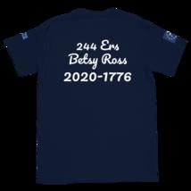 George Washington T-shirt / Betsy Ross T-Shirt / Front, back and sleeves print image 3