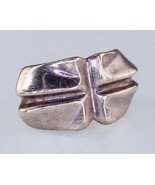Sterling Silver RLM Cross Ring Robert Lee Morris Studios Size 7.75 - £75.37 GBP