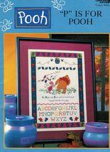 Cross Stitch Disney P Is For Winnie Pooh Tigger Eeyore Birth Sampler Pat... - $13.99