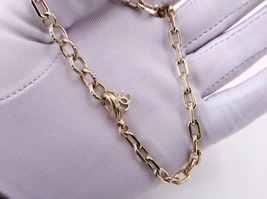 NEW Authentic Chanel Crystal Star CC Logo Long Gold Chain Necklace image 4