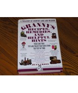 Grannys Recipes Remedies And Helpful Hints - $14.97
