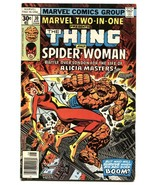 MARVEL TWO-IN-ONE #30 Early Spider-Woman app comic book - $31.53