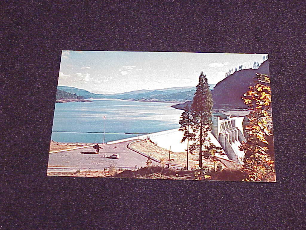 Primary image for Lookout Point Dam, Willamette, Oregon  Postcard, no. K-1681, unused