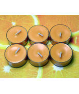 Fresh Squeezed Oranges PURE SOY Tea Lights (Set... - $4.50