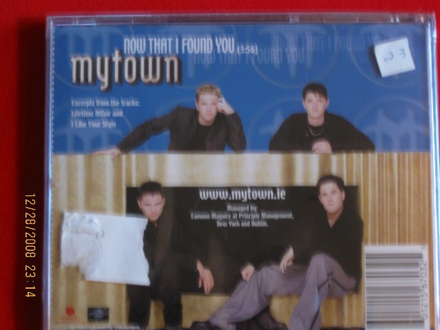 My Town-Now That I Found You [SINGLE]