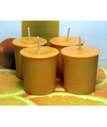 Fresh Squeezed Oranges PURE SOY Votives (Set of 4) - $7.00