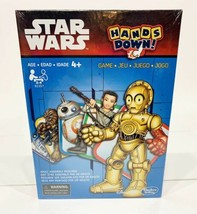 Disney Star Wars Hands Down By Hasbro, Children's Kids Card Game, BRAND NEW 2014 - $12.99