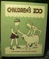 CHILDREN'S ZOO by KATHERINE SOUTHWICK KEELER,1942,Bronx Zoo Story;Cadmus Books