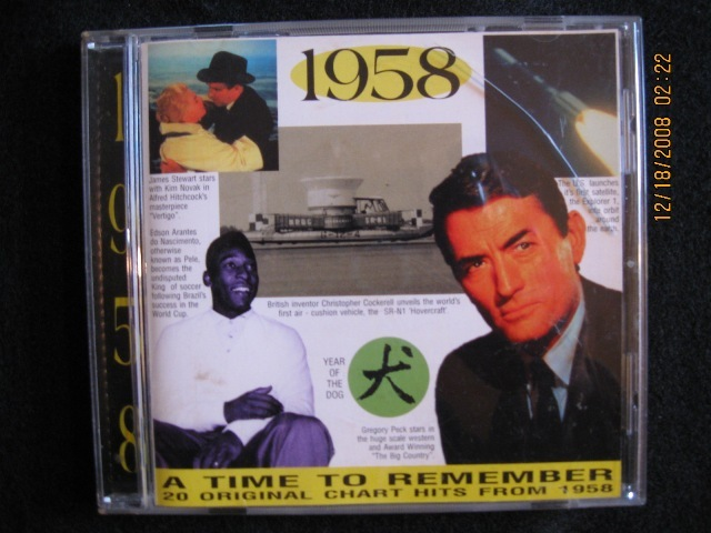 A time to remember 20 original chart hits from 1958 img 0470