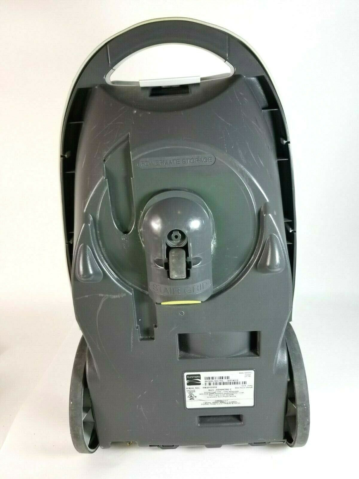 Kenmore 116 Progressive REPLACEMENT CANISTER ONLY Vacuum Cleaner White