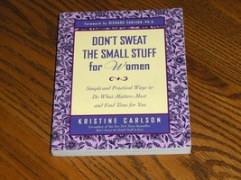 Don't Sweat The Small Stuff For Women - $3.99