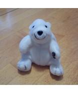 """1996 Coca-Cola 3 1/2"""" Bean Bag Plush Polar Bear... - $2.99"""