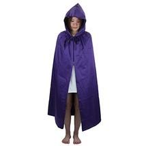Samtree Christmas Halloween Costumes Cape for Kids,Velvet Hooded Cosplay... - $21.97