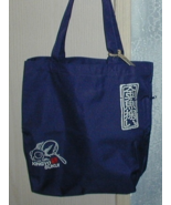 Pincponc Large Lined Fabric Shopping Tote Bag w Pockets Zipper New - $7.00