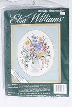 Elsa Williams Lily's Bouquet Crewel Embroidery Cross Stitch Kit Sealed - $98.01