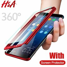 H&A 360 Luxury Full Protective Case For Samsung Galaxy S9 S8 Plus S6 S7 Edge - $5.38