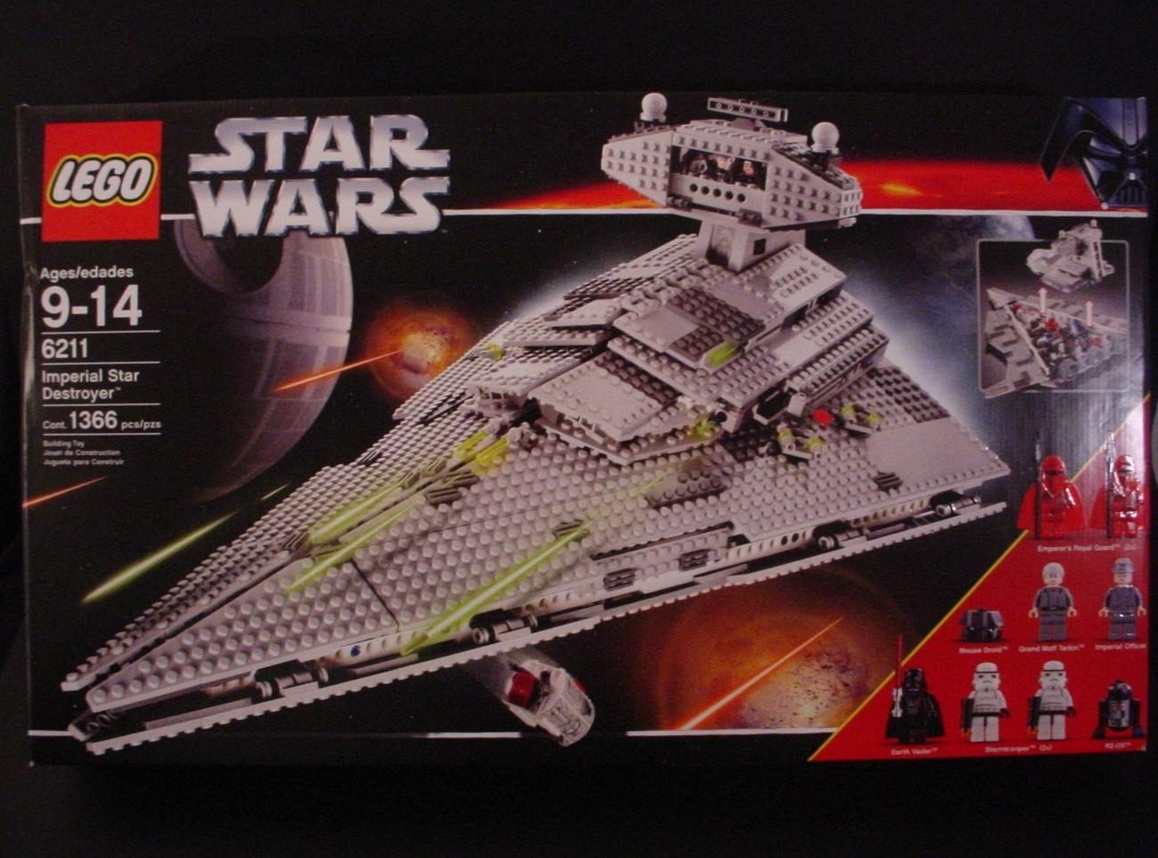 LEGO Star Wars: Imperial Star Destroyer 6211 Review ...   Lego Star Destroyer 6211