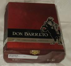 Don Barreto Wood Empty Cigar Box New MUst See - $24.99